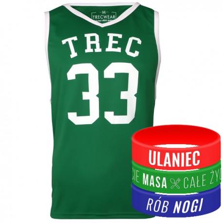 Trec Wear - Koszulka Jersey 004 Zielona