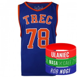 Trec Wear - Koszulka Jersey 010 ROYAL BLUE