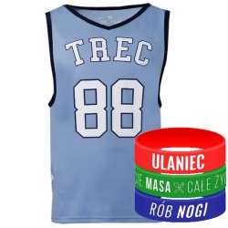 Trec Wear - Koszulka Jersey 011 Niebieska