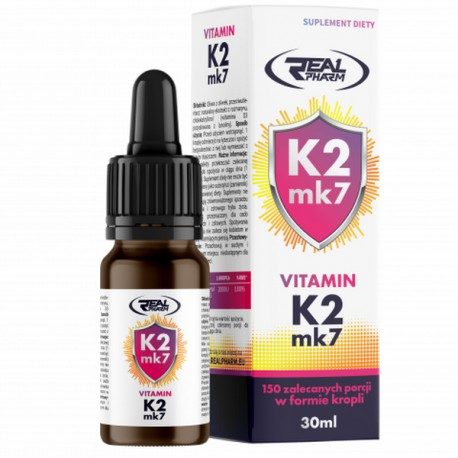 Real Pharm - Vitamin K2 MK7 30ml (krople)