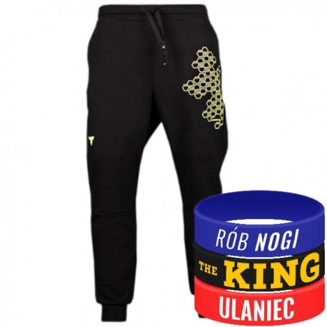 Trec Wear - Spodnie dresowe Pants 035 BLACK