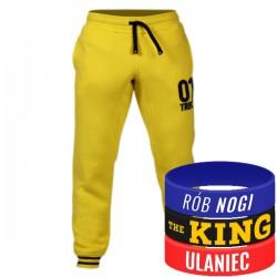 Trec Wear - Spodnie dresowe Pants 036 LEMON