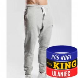 Trec Wear - Spodnie dresowe Pants 039 GREY MELANGE