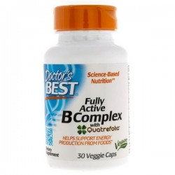 Doctor's Best - Fully Active B-Complex 30 vege kap