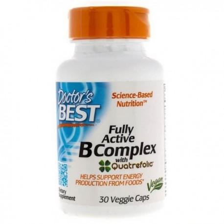 Doctor's Best - Fully Active B-Complex 30 vege kap