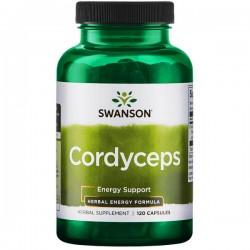 Swanson - Cordyceps 600mg 120kap