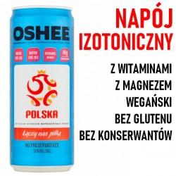 OSHEE - Gazowany Napój Izotoniczny 330ml wieloowocowy