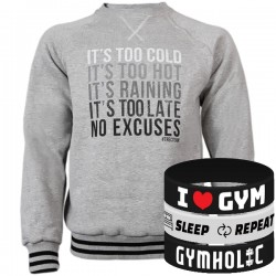 Trec Wear - Bluza Sweatshirt 013 NO EXCUSES