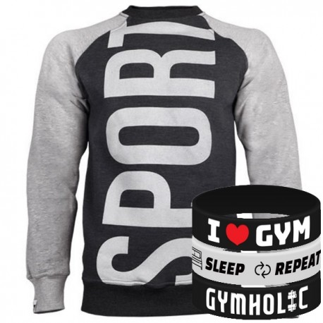 Trec Wear - Bluza Sweatshirt 014 SPORT