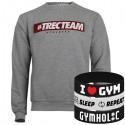 Trec Wear - Bluza Sweatshirt 033 TTA MELANGE