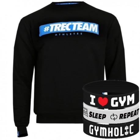Trec Wear - Bluza Sweatshirt 034 TTA BLACK