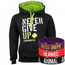 Trec Wear - Hoodie 033 NEVER GIVE UP
