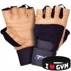 Trec - Rękawice treningowe 01 PROFI BROWN