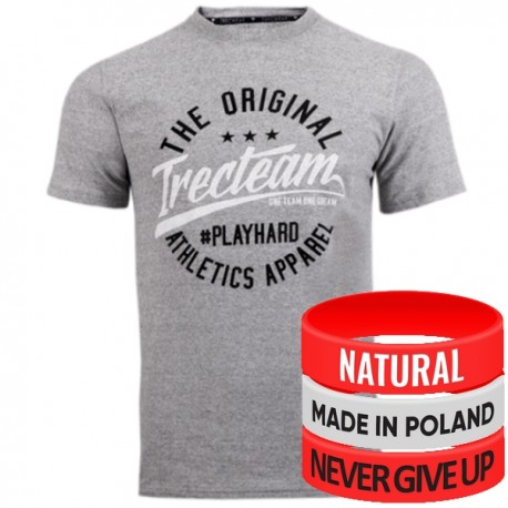 Trec Wear - Koszulka T-Shirt Softtrec 006 GREY TTA