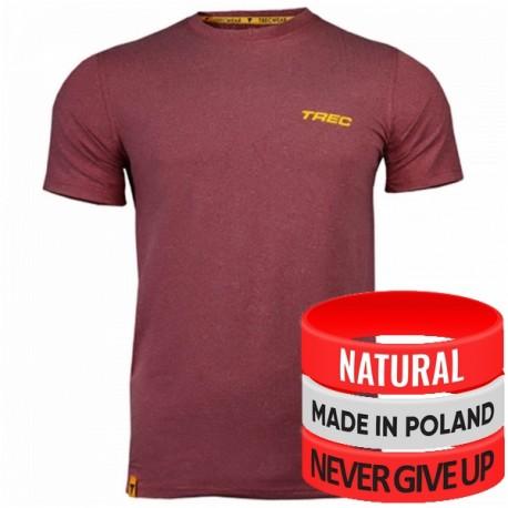 Trec Wear - Koszulka T-Shirt Softtrec 002 MAROON