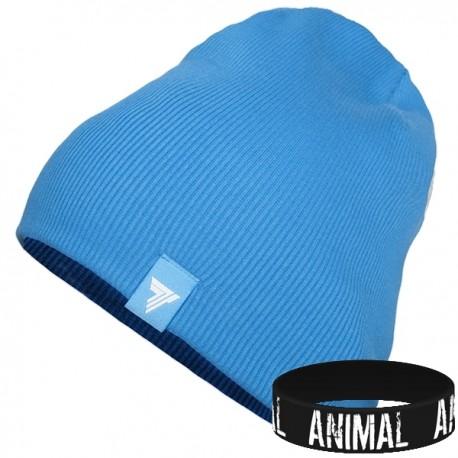 Trec Wear - Czapka zimowa Winter Cap 004 BLUE