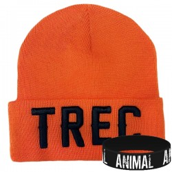 Trec Wear - Czapka zimowa Winter Cap 008 ORANGE