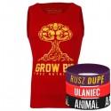 Trec Wear - Koszulka Tank Top 007 GROW BIG RED