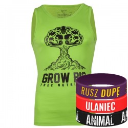 Trec Wear - Koszulka Tank Top 008 GROW BIG GREEN