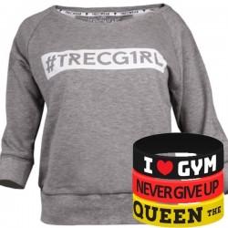 Trec Wear - Bluza Sweatshirt TRECGIRL 003 GRAY
