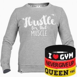 Trec Wear - Bluza Sweatshirt TRECGIRL 008 STRONG GRAY