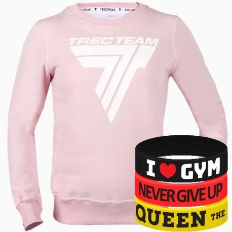 Trec Wear - Bluza Sweatshirt TRECGIRL 010 PINK