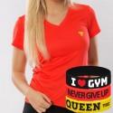 Trec Wear - Koszulka T-Shirt Cooltrec TRECGIRL 015 ORANGE