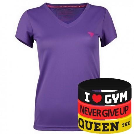 Trec Wear - Koszulka T-Shirt Cooltrec TRECGIRL 016 FUCHSIA