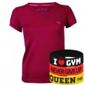 Trec Wear - Koszulka T-Shirt Cooltrec TRECGIRL 017 PURPLE