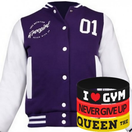 Trec Wear - Kurtka Jacket TRECGIRL 004 PURPLE
