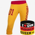 Trec Wear - Spodnie 3/4 Pants TRECGIRL 001 YELLOW