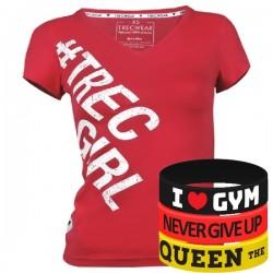 Trec Wear - Koszulka T-Shirt TRECGIRL 002 PINKY