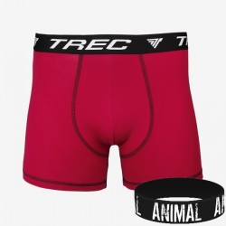 Trec Wear - Bokserki BOXER SHORTS 003 RED