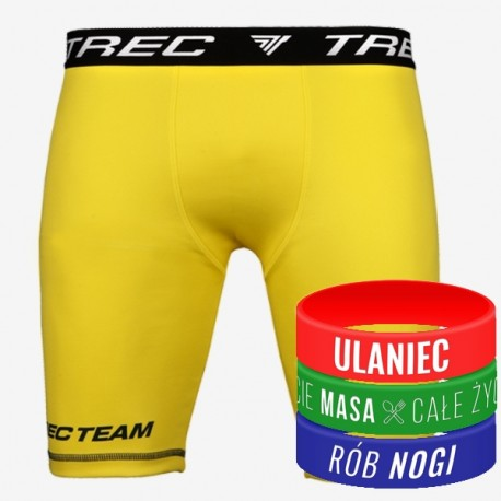Trec Wear - Spodenki PRO SHORT PANTS 008 YELLOW