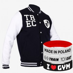 Trec Wear - Kurtka JACKET 002 SLIM NAVY-BLUE-WHITE