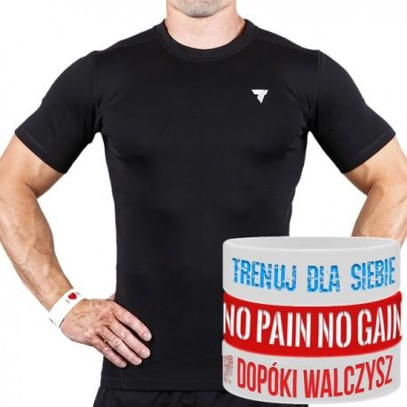 Trec Wear - Koszulka Rashguard 003 BLACK
