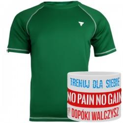 Trec Wear - Koszulka treningowa Rashguard Short Sleeve 012 GREEN