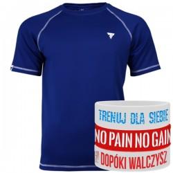 Trec Wear - Koszulka treningowa Rashguard Short Sleeve 013 BLUE