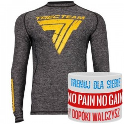 Trec Wear - Koszulka treningowa Rashguard Long Sleeve 017 GRAY
