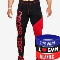 Trec Wear - Spodnie PRO PANTS CROSSTREC 001 BLACK-RED