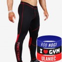 Trec Wear - Spodnie PRO PANTS 003 BLACK-RED
