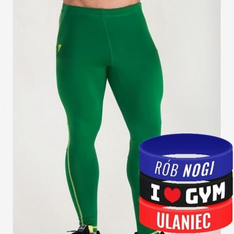 Trec Wear - Spodnie PRO PANTS 005 GREEN