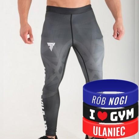 Trec Wear - Spodnie PRO PANTS PLAYHARD 007 BLACK