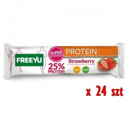 FreeYu - Baton białkowy z inuliną KARTON 24x40g