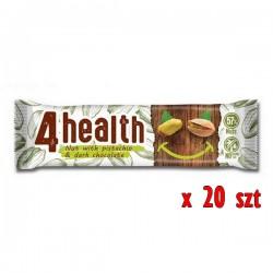 Look Food - Baton enrgetyczny 4 Health KARTON 20x30g