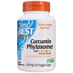 Doctor's Best - Curcumin Phytosome 500mg 60kap