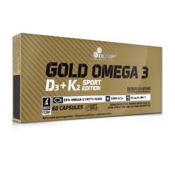 Olimp Gold Omega 3 D3+K2 Sport Edition 60kap