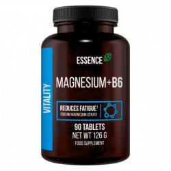 Essence Nutrition - Magnesium+B6 125mg 90tab