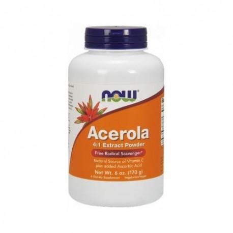 NOW - Acerola 4:1 Extract Powder 170g