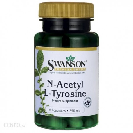 Swanson - N-Acetyl L-Tyrosine 350mg 60kap